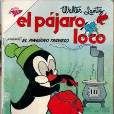 Tebeos: EL PAJARO LOCO Nº 226 PRESENTA EL PINGUINO TRAVIESO - MARZO 1962 - NOVARO SEA - RARO. Lote 197204783
