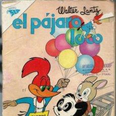 Tebeos: EL PAJARO LOCO Nº 231 - MAYO 1962 - NOVARO SEA - RARO. Lote 197204986