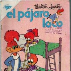 Tebeos: EL PAJARO LOCO Nº 234 - JULIO 1962 - NOVARO SEA - RARO. Lote 197205042