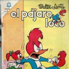 Tebeos: EL PAJARO LOCO Nº 260 - AGOSTO 1964 - NOVARO SEA - RARO. Lote 197205245