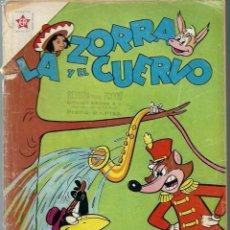 Tebeos: LA ZORRA Y EL CUERVO Nº 126 -JUNIO 1961 - NOVARO SEA - RARO. Lote 197205522