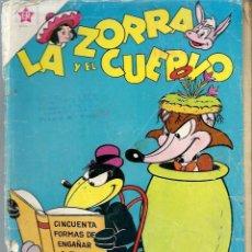 Tebeos: LA ZORRA Y EL CUERVO Nº 129 -SEPTIEMBRE 1961 - NOVARO SEA - RARO. Lote 197205597
