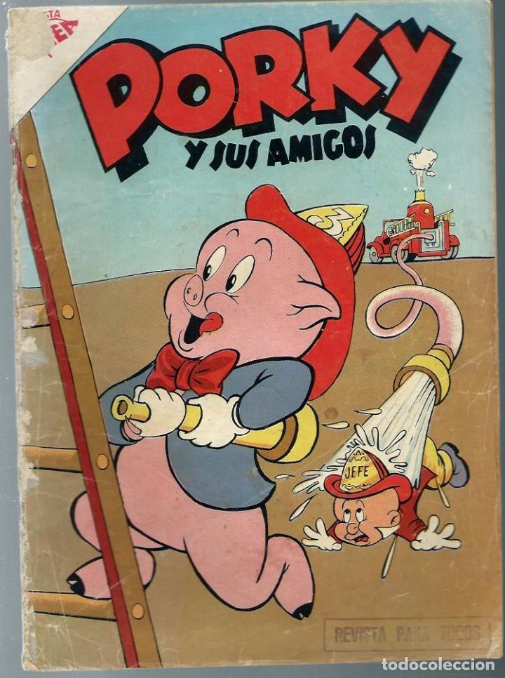 PORKY Y SUS AMIGOS Nº 80 - MAYO 1958 - NOVARO SEA - UNICO EN TODOCOLECCION (Tebeos y Comics - Novaro - Porky)