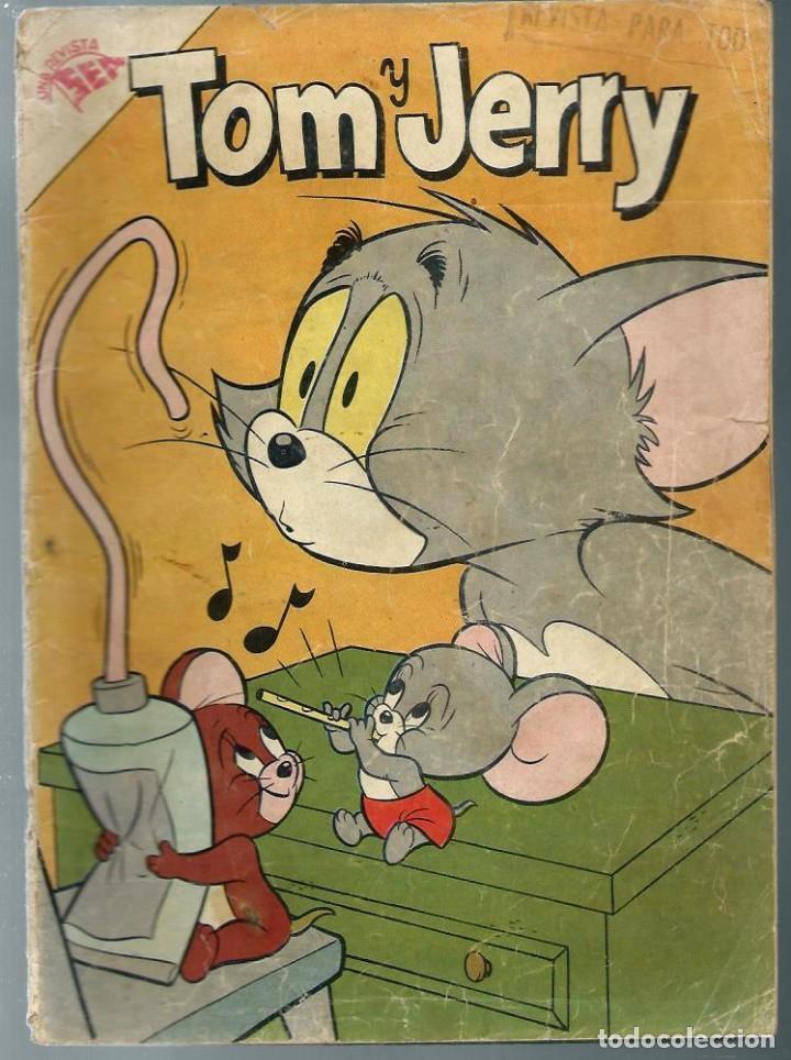 TOM Y JERRY Nº 85 - ABRIL 1958 - NOVARO SEA - PARECE PROCEDER DE RETAPADO QUEROMON - UNICO EN TC (Tebeos y Comics - Novaro - Tom y Jerry)