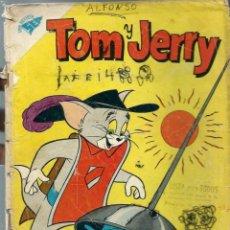 Tebeos: TOM Y JERRY Nº 122 -NOVIEMBRE 1959 - NOVARO SEA - VER DESCRIPCION. Lote 197215336