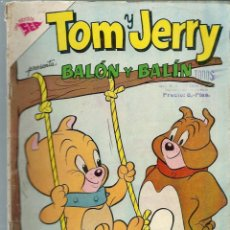 Tebeos: TOM Y JERRY Nº 183 -BALON Y BALIN - MAYO 1962 - NOVARO SEA - VER DESCRIPCION. Lote 197216091