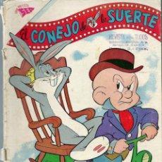 Tebeos: EL CONEJO DE LA SUERTE Nº 143 - MAYO 1962- NOVARO SEA - VER DESCRIPCION. Lote 197218156