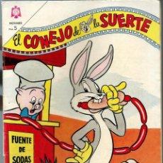 Tebeos: EL CONEJO DE LA SUERTE Nº 196 - JULIO 1964 - NOVARO SEA. Lote 197219008