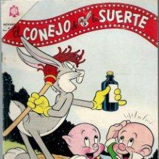 Tebeos: EL CONEJO DE LA SUERTE Nº 217 -JUNIO 1965 - NOVARO SEA. Lote 197219565
