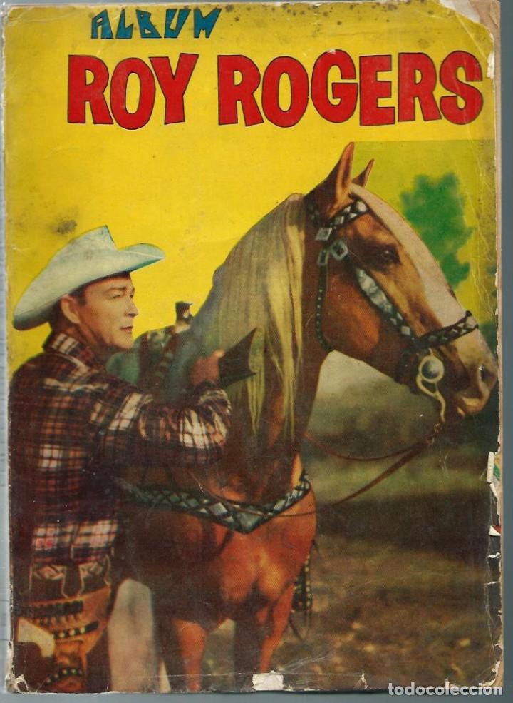 ALBUM ROY ROGERS - QUEROMON EDITORES 1956 - RETAPADO ED. CON LOS Nº 28 33 37 45 Y 48 Y SUS CUBIERTAS (Tebeos y Comics - Novaro - Roy Roger)