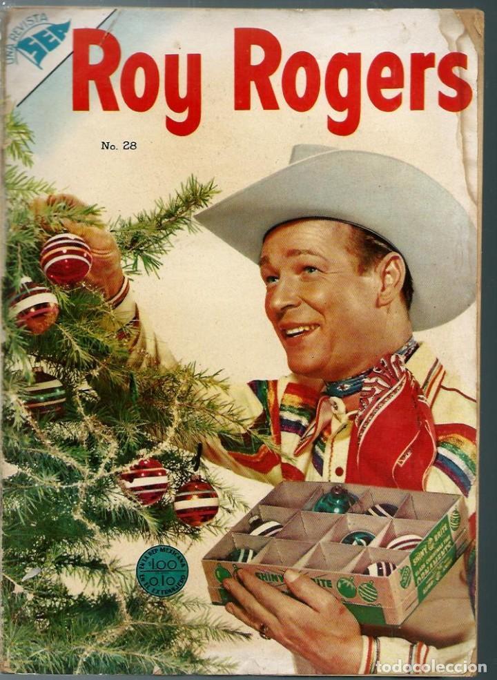 Tebeos: ALBUM ROY ROGERS - QUEROMON EDITORES 1956 - RETAPADO ED. CON LOS Nº 28 33 37 45 Y 48 Y SUS CUBIERTAS - Foto 3 - 197225191