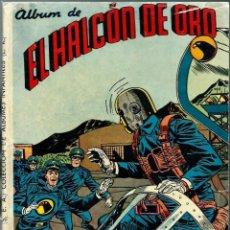 Tebeos: ALBUM DE EL HALCON DE ORO - TAPAS DE LA COLECCION DE ALBUMES INFANTILES QUEROMON Nº 74 - SOLO TAPAS. Lote 197242541