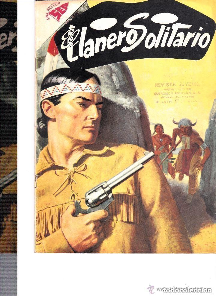 EL LLANERO SOLITARIO Nº 60-- MARZO 1958 (Tebeos y Comics - Novaro - El Llanero Solitario)