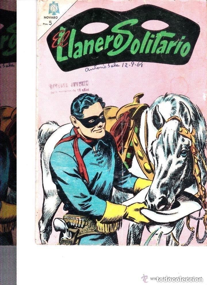 EL LLANERO SOLITARIO Nº 138 SPTIEMBRE 1964 (Tebeos y Comics - Novaro - El Llanero Solitario)