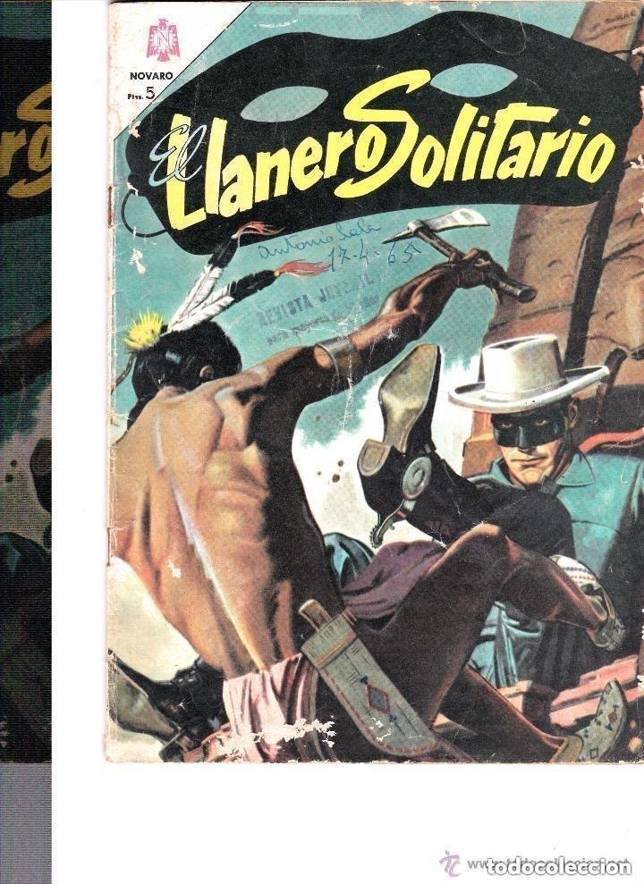 EL LLANERO SOLITARIO Nº 153-- DICIEMBRE 1965 (Tebeos y Comics - Novaro - El Llanero Solitario)