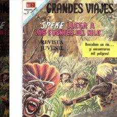 Tebeos: GRANDES VIAJES -SPEKE LLEGA A LAS FUENTES DEL NILO Nº63 ABRIL 1968. Lote 197271497