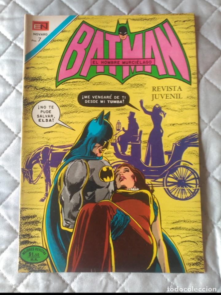 BATMAN Nº 600 EDITORIAL NOVARO (Tebeos y Comics - Novaro - Batman)