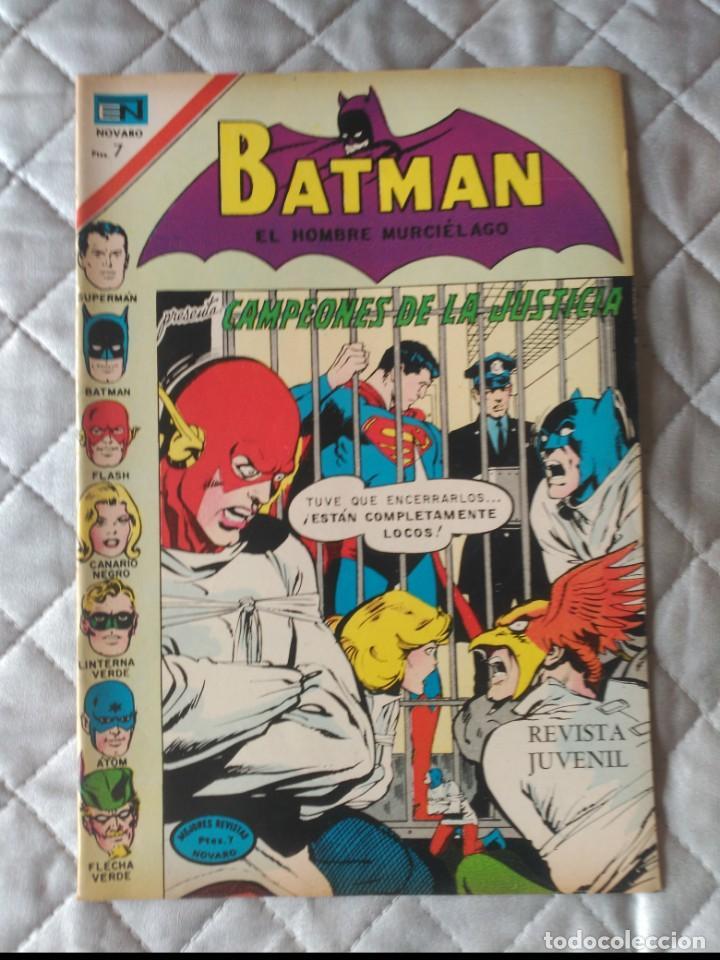 BATMAN Nº 602 EDITORIAL NOVARO (Tebeos y Comics - Novaro - Batman)