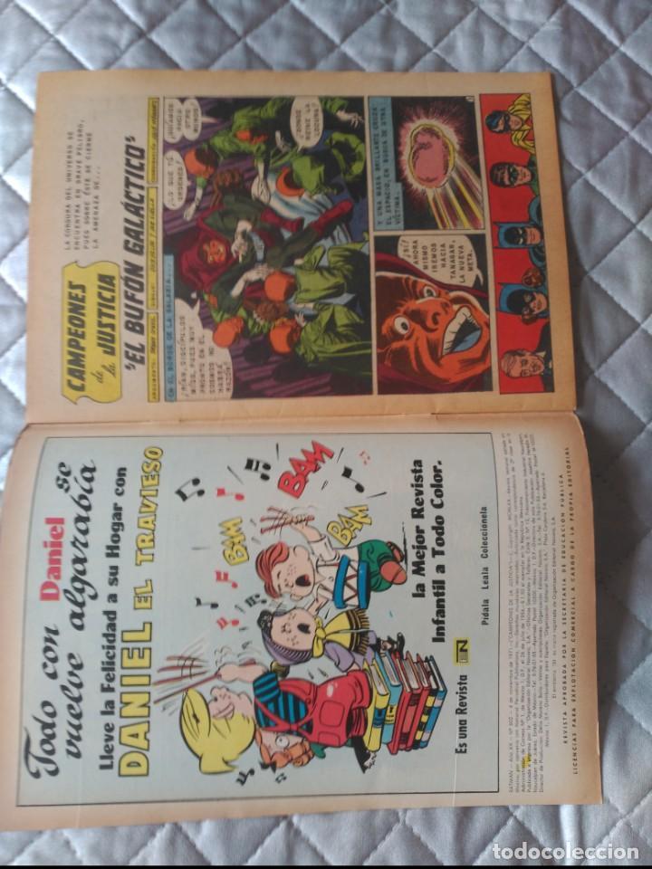 Tebeos: Batman Nº 602 Editorial Novaro - Foto 3 - 197838701