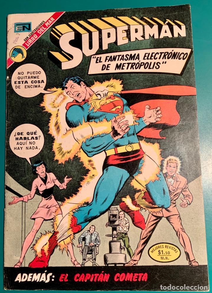 CÓMIC SUPERMAN, N 914, EDITORIAL NOVARO 30 MAYO 1973 (Tebeos y Comics - Novaro - Superman)