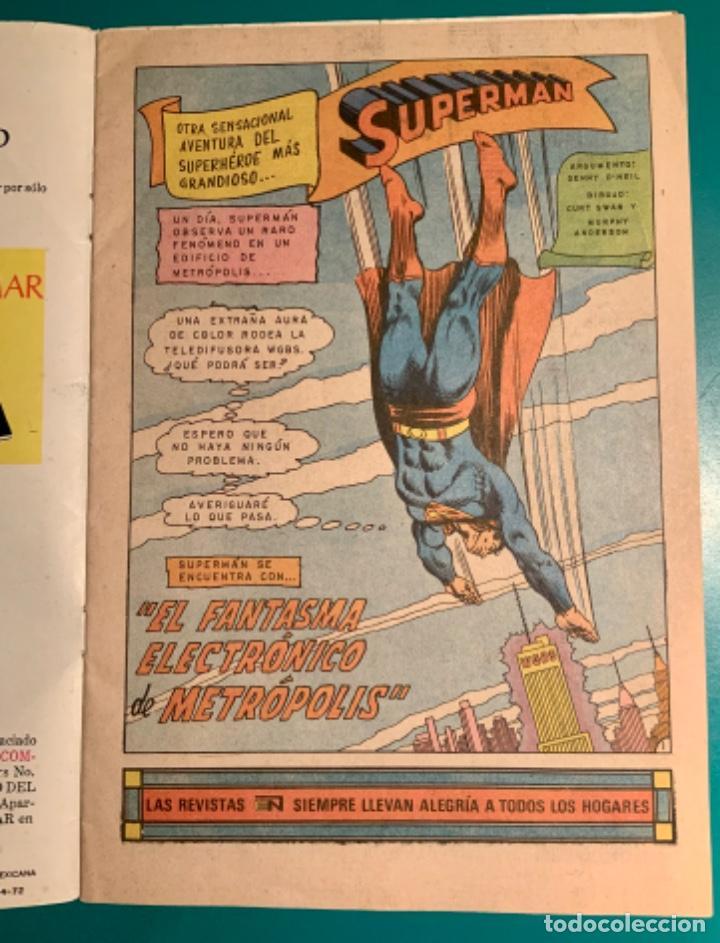 Tebeos: CÓMIC SUPERMAN, N 914, EDITORIAL NOVARO 30 MAYO 1973 - Foto 5 - 197860955