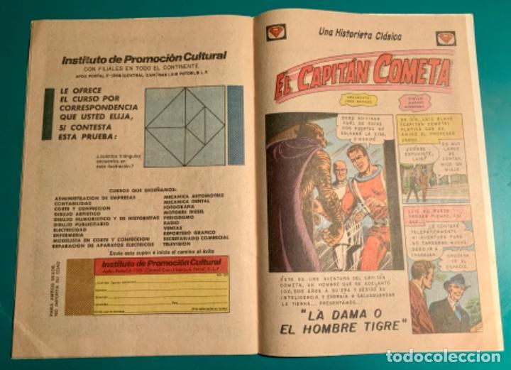 Tebeos: CÓMIC SUPERMAN, N 914, EDITORIAL NOVARO 30 MAYO 1973 - Foto 7 - 197860955