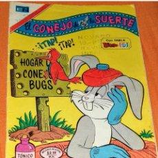 Tebeos: COMIC EL CONEJO DE LA SUERTE EDITORIAL NOVARO N° 425 AÑO 1974.. Lote 198190953