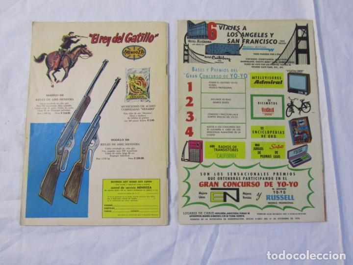 Tebeos: 12 tebeos Novaro, pajaro loco, Fix y Fox, Super Ratón, Conejo de la suerte, .... - Foto 4 - 198243743