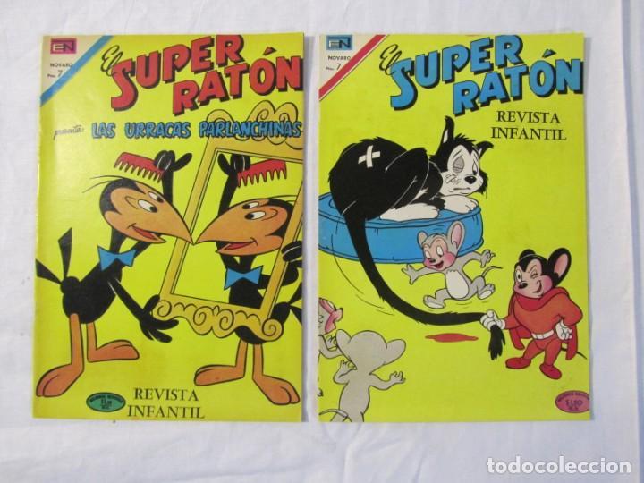 Tebeos: 12 tebeos Novaro, pajaro loco, Fix y Fox, Super Ratón, Conejo de la suerte, .... - Foto 9 - 198243743