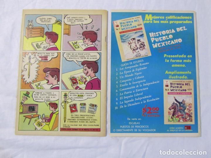 Tebeos: 12 tebeos Novaro, pajaro loco, Fix y Fox, Super Ratón, Conejo de la suerte, .... - Foto 10 - 198243743