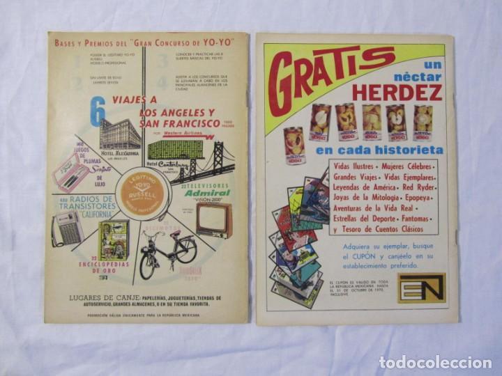 Tebeos: 12 tebeos Novaro, pajaro loco, Fix y Fox, Super Ratón, Conejo de la suerte, .... - Foto 12 - 198243743