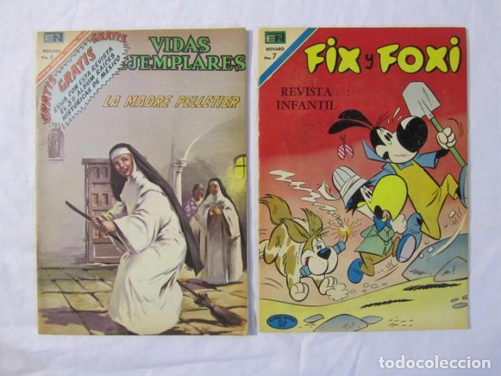 Tebeos: 12 tebeos Novaro, pajaro loco, Fix y Fox, Super Ratón, Conejo de la suerte, .... - Foto 13 - 198243743