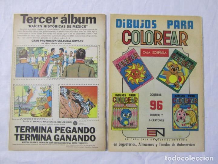 Tebeos: 12 tebeos Novaro, pajaro loco, Fix y Fox, Super Ratón, Conejo de la suerte, .... - Foto 14 - 198243743