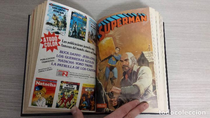 Tebeos: SUPERMAN LIBROCÓMIC COMPLETA EN 52 NÚMEROS - ENCUADERNADA EN 7 TOMOS TAPA DURA NOVARO (LIBRO CÓMIC) - Foto 6 - 198259288