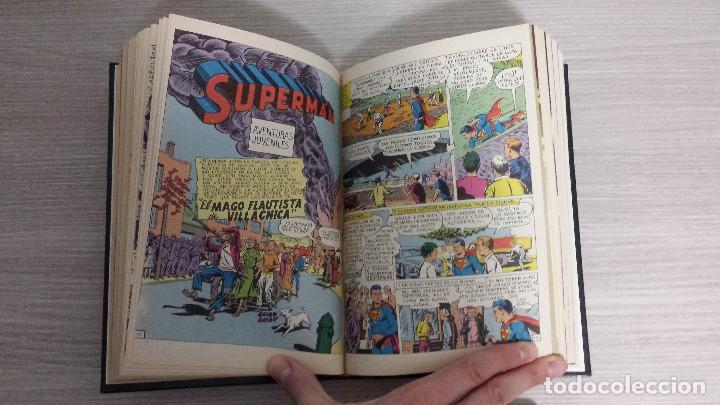 Tebeos: SUPERMAN LIBROCÓMIC COMPLETA EN 52 NÚMEROS - ENCUADERNADA EN 7 TOMOS TAPA DURA NOVARO (LIBRO CÓMIC) - Foto 7 - 198259288