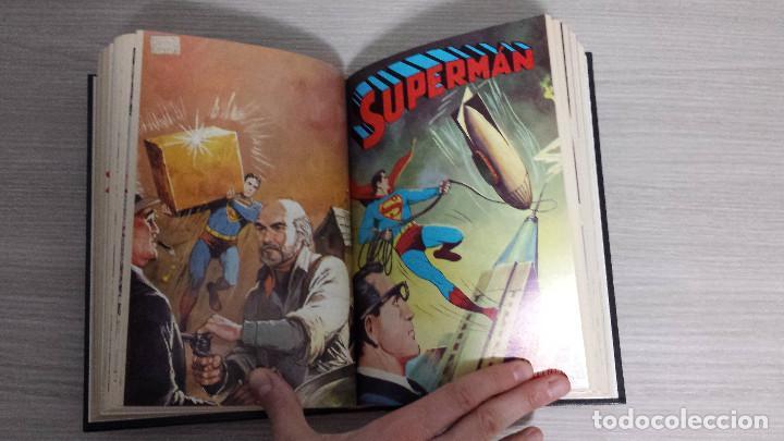 Tebeos: SUPERMAN LIBROCÓMIC COMPLETA EN 52 NÚMEROS - ENCUADERNADA EN 7 TOMOS TAPA DURA NOVARO (LIBRO CÓMIC) - Foto 9 - 198259288