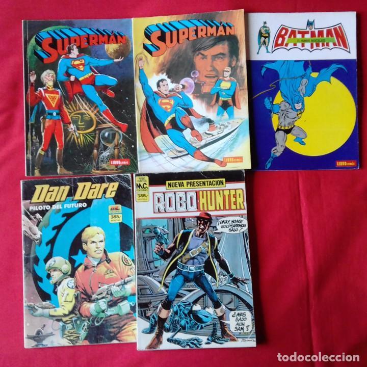 Tebeos: LOTAZO 23 COMIC NOVARO: KORAK, SUPERMAN, PORKY, TARZAN, BATMAN, DAN DARE, ROBOHUNTER - Foto 2 - 198358987