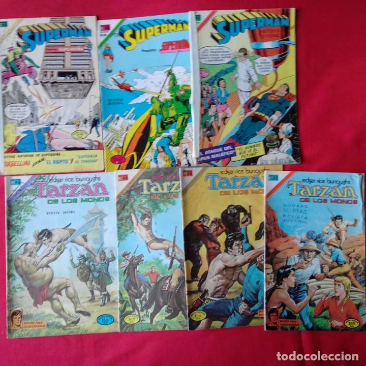 Tebeos: LOTAZO 23 COMIC NOVARO: KORAK, SUPERMAN, PORKY, TARZAN, BATMAN, DAN DARE, ROBOHUNTER - Foto 3 - 198358987