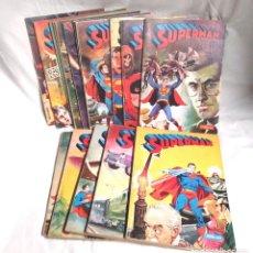 Tebeos: 16 TOMOS SUPERMAN DE NOVARO AÑOS 70. Lote 198588238