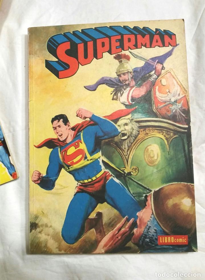 Tebeos: Lote 7 tomos Superman n° 19, 24, 26, 27, 49, 50 y 51 año 1976 - Foto 2 - 198588271