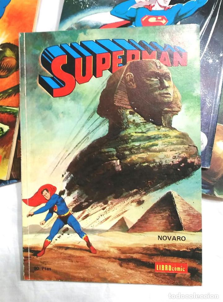 Tebeos: Lote 7 tomos Superman n° 19, 24, 26, 27, 49, 50 y 51 año 1976 - Foto 4 - 198588271