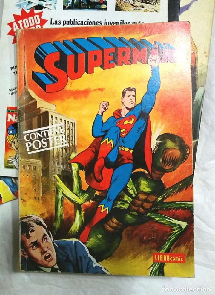 Tebeos: Lote 7 tomos Superman n° 19, 24, 26, 27, 49, 50 y 51 año 1976 - Foto 5 - 198588271