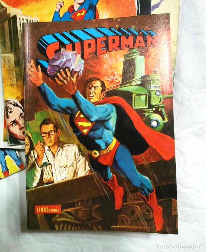 Tebeos: Lote 7 tomos Superman n° 19, 24, 26, 27, 49, 50 y 51 año 1976 - Foto 6 - 198588271