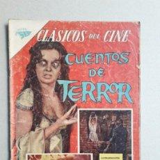 Tebeos: EDGAR ALLAN POE! - CUENTOS DE TERROR - CLÁSICOS DE CINE N° 97 - ORIGINAL EDITORIAL NOVARO. Lote 184083570
