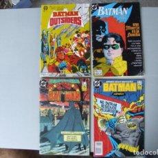 Tebeos: 4 EJEMPLARES DE BATMAN. Lote 198892552