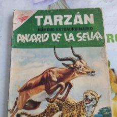 Tebeos: TARZÁN EXTRAORDINARIO DE NOVARO ENERO 1957, VER ESTADO. Lote 198901887