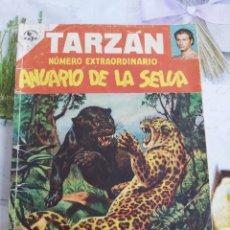 Tebeos: TARZÁN NÚMERO EXTRAORDINARIO ANUARIO DE LA SELVA MAYO DE 1953. Lote 198903356