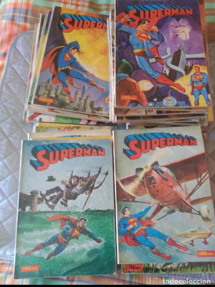 Tebeos: Supermán Novaro Librocómic COMPLETA 52 Números - Foto 4 - 199147741