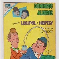 Tebeos: DOMINGOS ALEGRES NUMERO 759 LAUREL Y HARDY. Lote 199155456