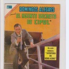 Tebeos: DOMINGOS ALEGRES EL AGENTE DE CIPOL NUMERO 672. Lote 199155953